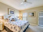 Master Bedroom with King Bed at 304 North Shore Place